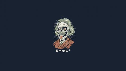e = mc2,爱因斯坦,僵尸,食尸鬼