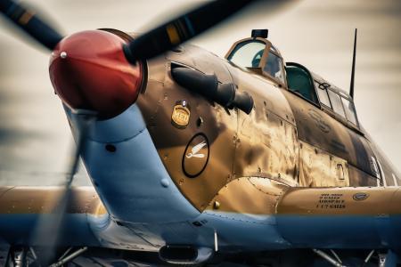 小贩飓风,XIIA,单身,战斗机,拦截机,时间,二,世界,战争