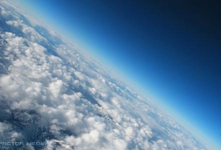 天空,蓝色