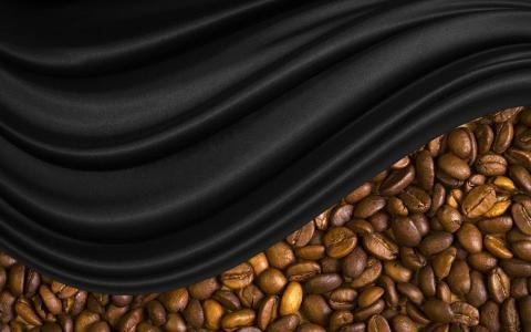 咖啡豆,布下