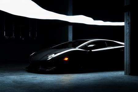 兰博基尼,跑车,超级跑车,黑色,BULLET