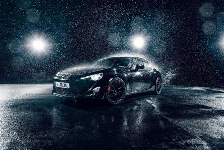 丰田,下雨
