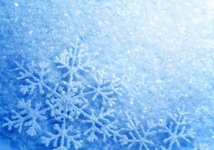 冰,雪花,闪闪发光,冷,白霜,冬天,霜