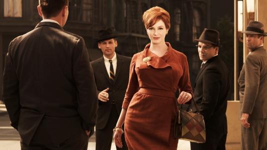 男人,裙子,服装,克里斯蒂娜亨德里克斯,广告狂人,琼哈里斯,电影,名人