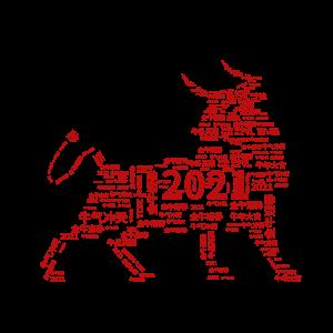 2021牛年祝福词排版