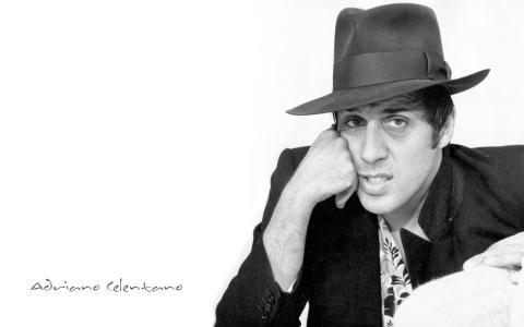 阿德里亚诺Celentano,头盔,梦中的男人,歌手,演员