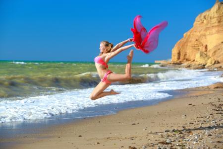 艺术体操,alessandra a,比基尼,海