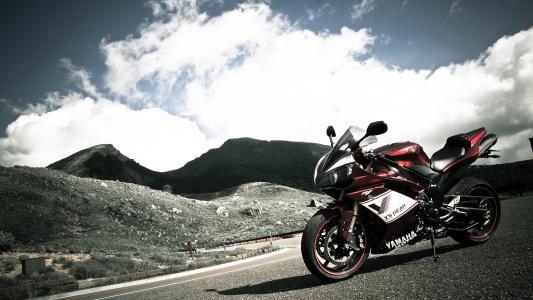 雅马哈,Sportbike,yzf-r1,摩托车
