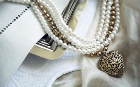 爱,心情,珠,心,装饰,挂件