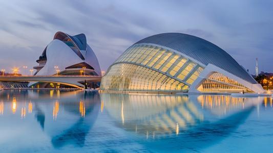 西班牙瓦伦西亚科学城