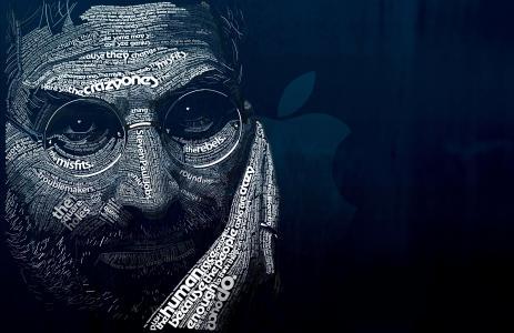 男人,iphone,ipod,黑色,背景,高科技,苹果,男人,ipad,单词,史蒂夫工作