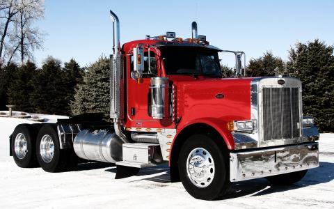 379,彼得比尔特,卡车,前端,拖拉机,彼得斯堡,卡车,拖拉机