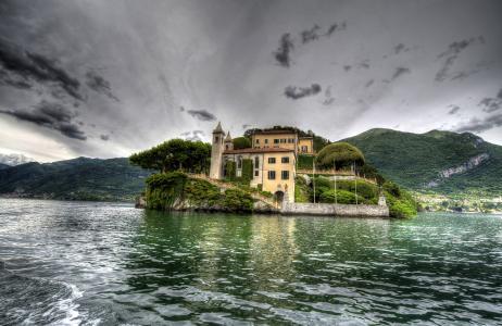 意大利,它是美丽的小岛