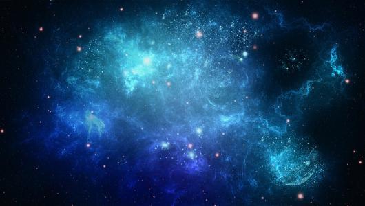 抽象,星星,空间,艺术