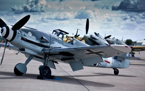 bf-109,飞机,bf-109,Messerschmitt