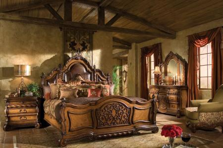 房间,灯,抽屉,床,扶手椅,卧室