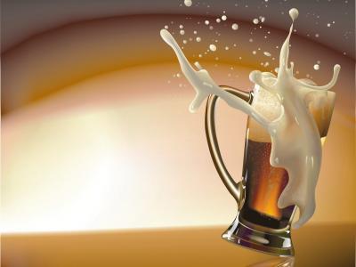 啤酒,黑暗,泡沫,运动中喷雾,巴卡尔
