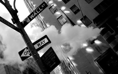 照片,快照,黑色和白色,城市,纽约,纽约,城市,曼哈顿,华尔街,街道,墙壁,街道,图片,壁纸