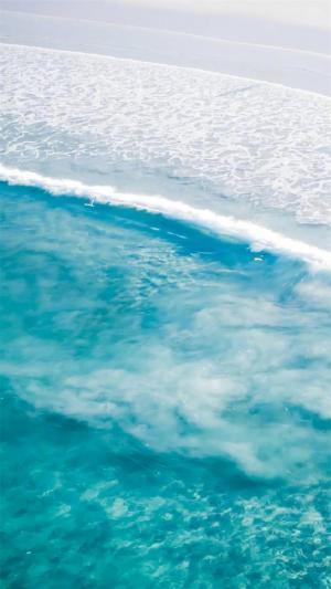 碧蓝大海摄影风景