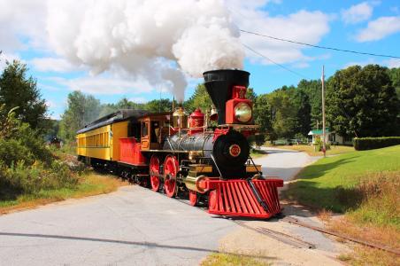 机车,烟,铁路