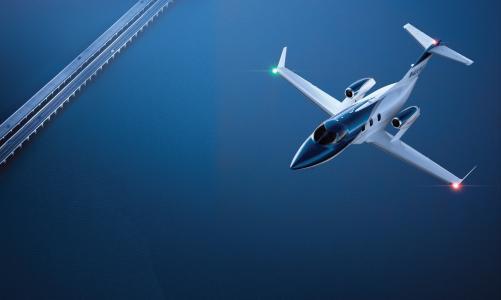 飞机,飞行,蓝色背景