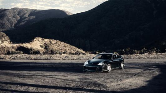 自然,保时捷,跑车,山,保时捷卡雷拉911 4s,卡雷拉