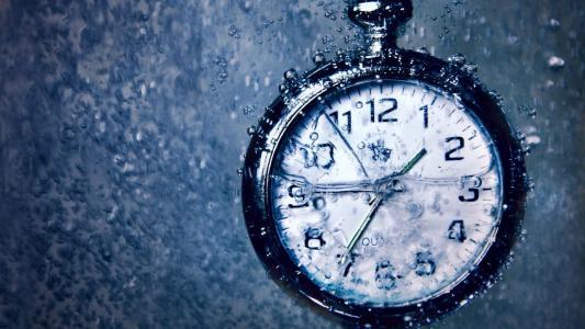 时间,小时,时间,下雨