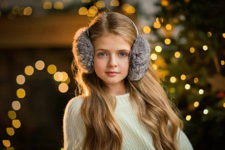 女孩,孩子,摄影师,奥尔加博伊科,奥尔加Boyko,长长的头发,看