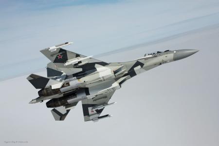 战斗机,飞行,导弹,苏35bm