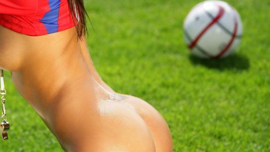 女孩,足球,色情