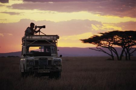 摄影师,非洲,相机,路虎
