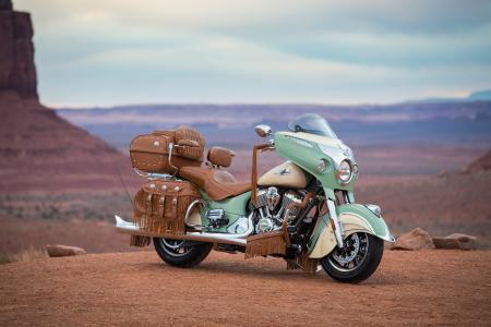 摩托车,印度,Roadmaster,经典,2017,峡谷