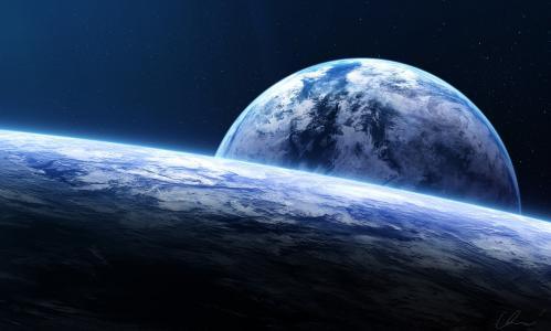 艺术,星球,空间,星星