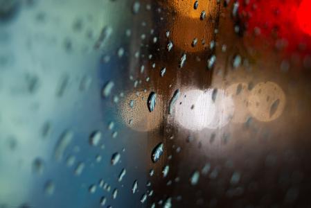 滴眼液,玻璃,雾,水彩,雨,水,模糊
