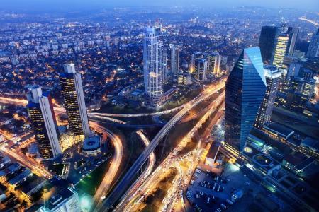 城市,伊斯坦布尔,土耳其,晚上,美丽