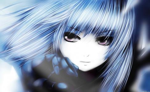 战斗天使阿丽塔,动漫,女孩,眼睛