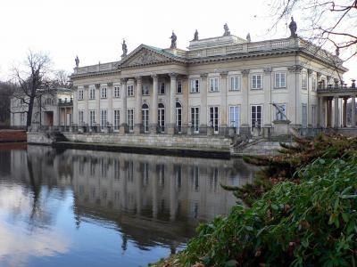 拉岑科宫,建筑,天空,湖泊