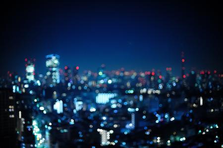 照片,东京,散景,日本,日本,夜,东京,灯,城市