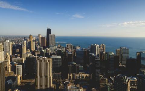 风城芝加哥的午后