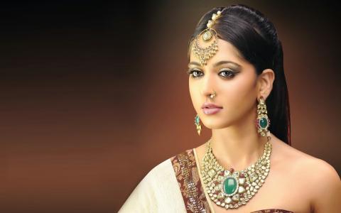 Anushka Shetty,印度人,女演员,美女,女孩