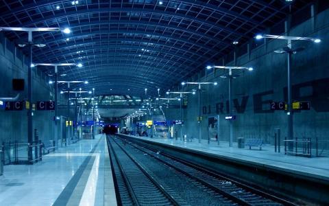 室内,铁路,灯光,地铁,大堂