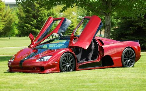 杀手布加迪,最快的车,成为2007年最快的,超级跑车,ssc终极航空6.3 v-8,一辆车,1320马力