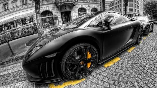 兰博基尼,壁纸,美丽,车,图片,汽车,黑色和白色