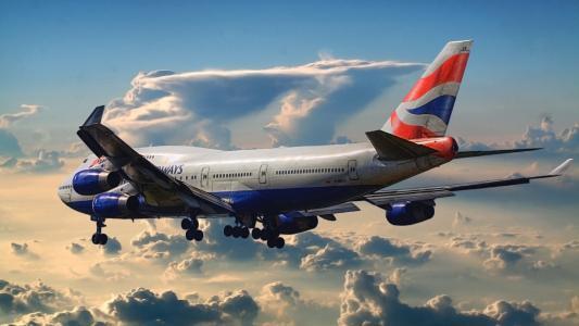 波音747客运英国航空公司
