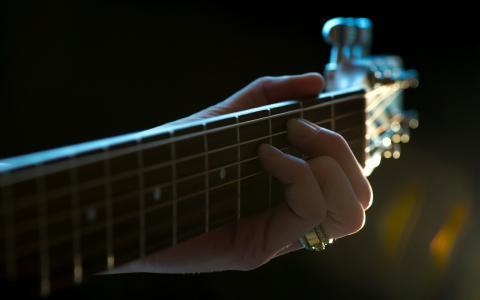 音乐,吉他,宏