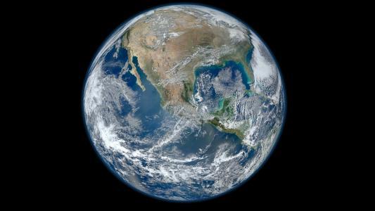 地球,行星,大陆,海洋,空间