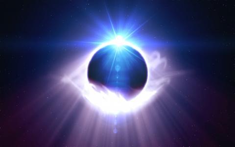 星星,眩光,宇宙,光芒,光,行星