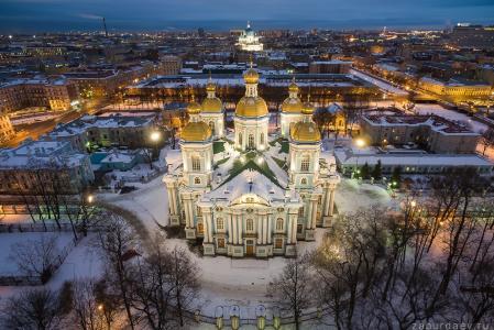 圣尼古拉斯海军大教堂,圣彼得堡,斯坦尼斯拉夫Zaburdaev