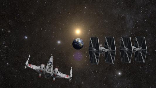 星球大战,空间,地球