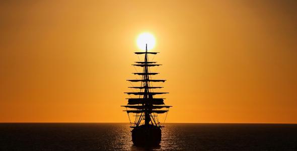 旗鱼,海,太阳,幻想